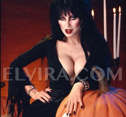 Mistress of the dark herself !