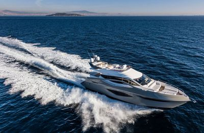 Numarine 62Fly European debut at Cannes Yachting Festival 2017