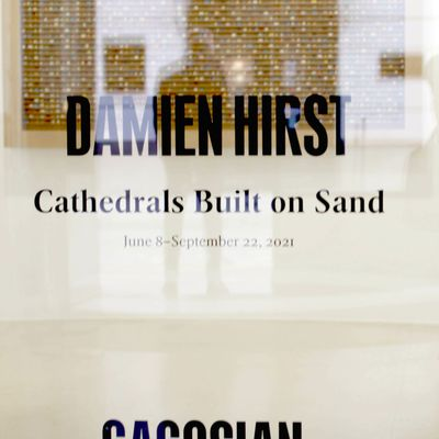 Exposition Solo Show: Damien HIRST «Cathedrals Built on Sand»