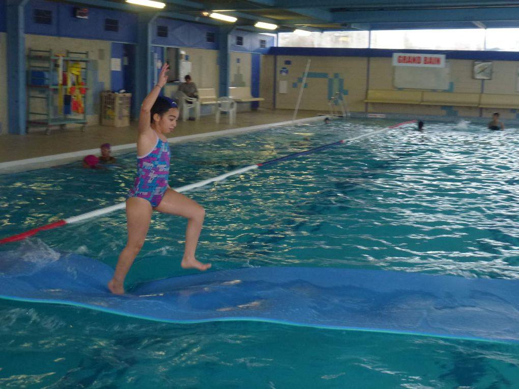 Retour à la piscine le 16 janvier