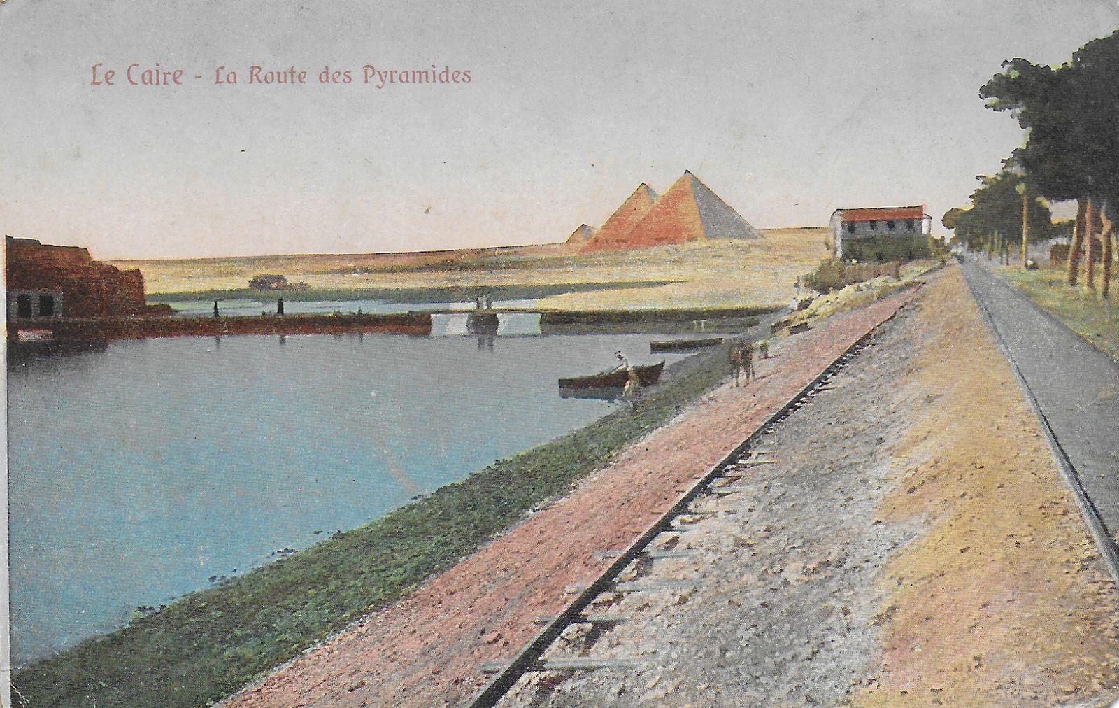 Carte postale du début du XXéme siècle.