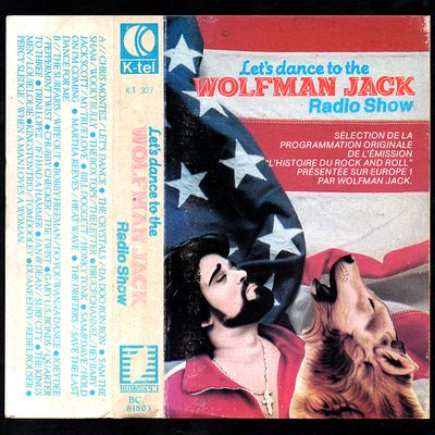 let's dance to the wolfman jack radio show - cassette K-tel - 1981