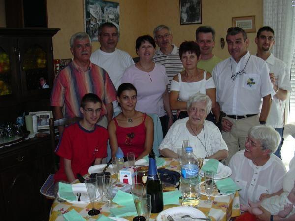 Voici quelques photos de famille et d'amis