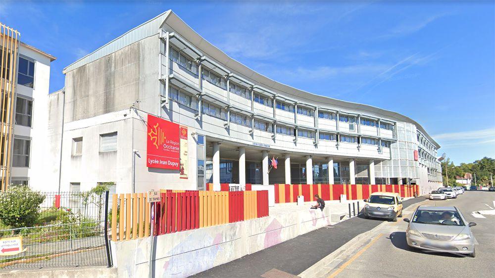 Lycée Jean-Dupuy à Tarbes