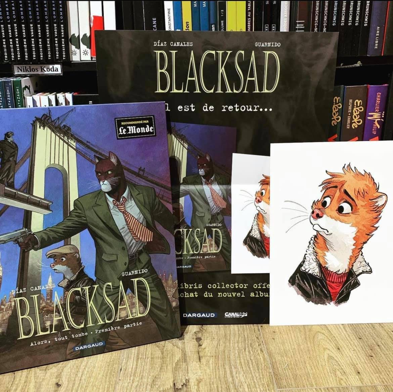 Tome 6 Blacksad - Alors, tout tombe. Première partie  Le retour du détective Blacksad 😏