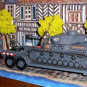 SD.KFZ. 9 Famo, remorque SD.ANH. 116 et Panzer IV au 1/43 (Eagle Moss) -