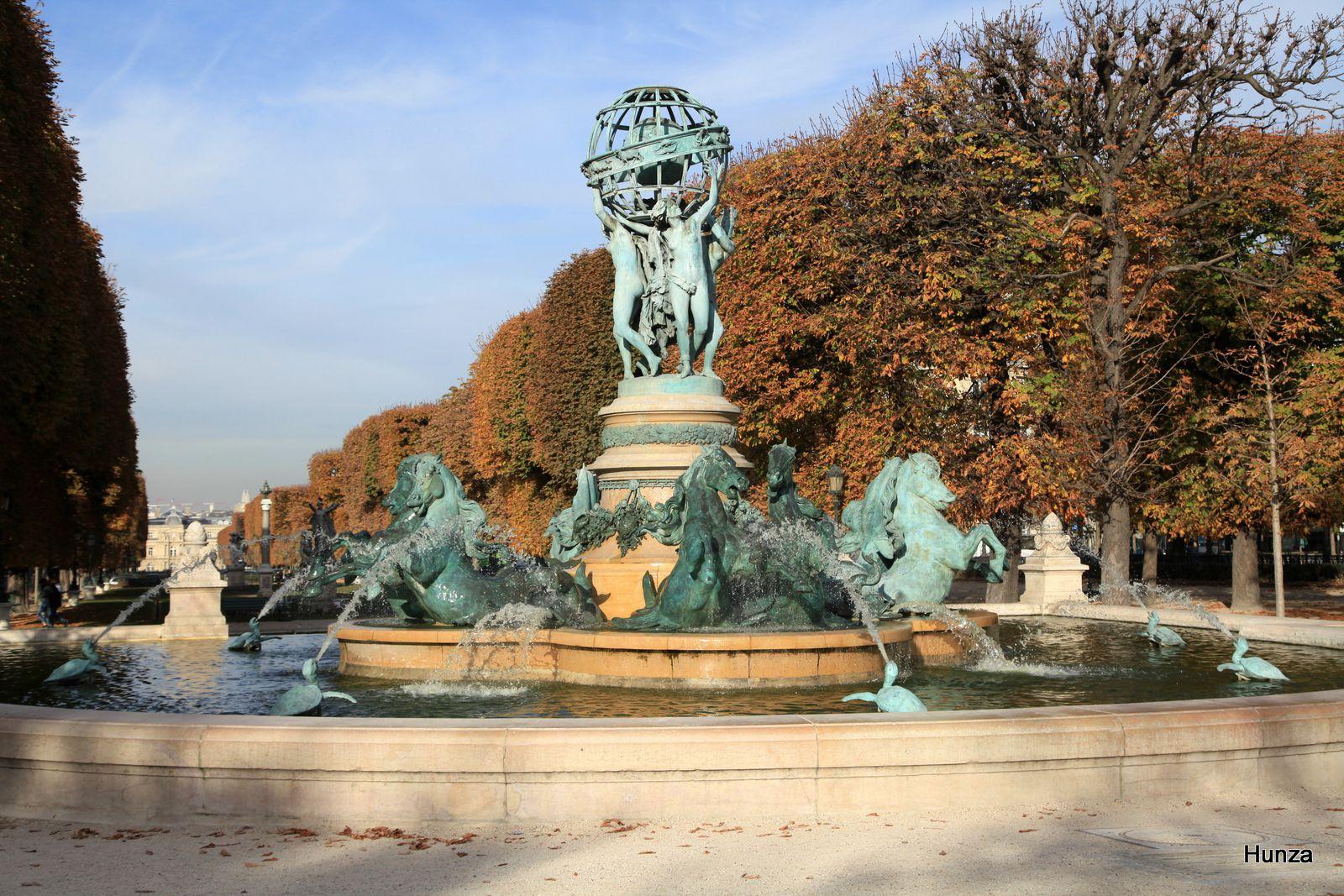 Paris, fontaine de l'Observatoire