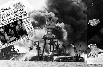 Le 7 décembre 1941 ou l'attaque de Pearl Harbor et l'entrée en guerre américaine