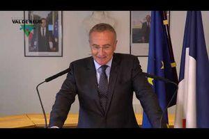Déclaration de Marc-Antoine JAMET Maire et Conseiller départemental de Val-de-Reuil