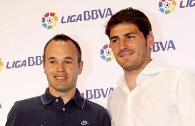 Iker Casillas y Andrés Iniesta, nominados al...