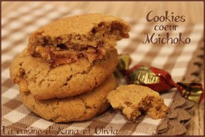 Cookies coeur Michoko