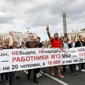 Biélorussie : insoumission, révolution citoyenne et grève générale