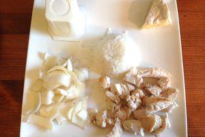 repas blanc