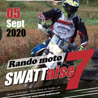 Rando moto la Swattaise à Vigneux de Bretagne (44), le 5 septembre 2020