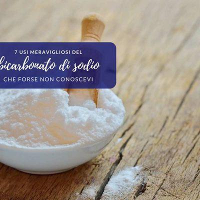 7 usi del bicarbonato di sodio che probabilmente non conoscevi