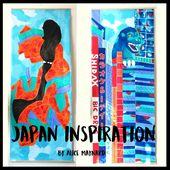 Tokyo - Kakemonos d'inspiration japonaise - Alice Maynard