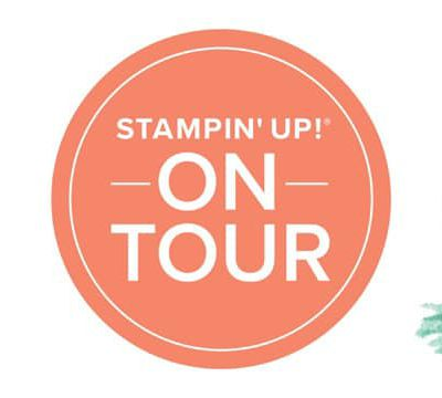 Prochaine formation Stampin'Up! ON TOUR
