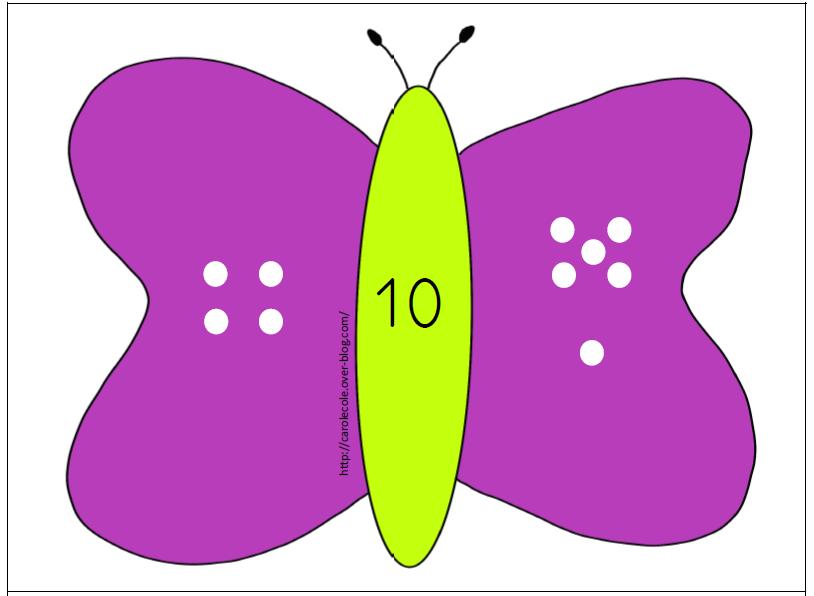 Les papillons décompositions