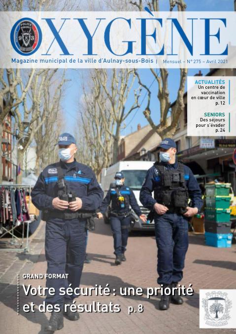 La délinquance en forte baisse à Aulnay-sous-Bois depuis 2014