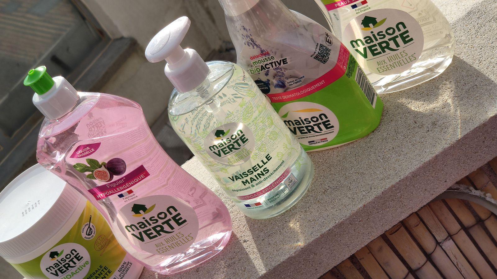 Maison verte les produits ménagers pour votre quotidien maison.