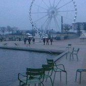 Paris/ Promenade un jour... d'hiver ( jardin des Tuileries et Galeries Lafayette du boulevard Haussmann) - PASSIONS ACTUALITES