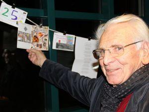 Einen Sonderpreis außer Konkurrenz erhielt der 82jährige Veitshöchheimer Künstler Helmut Booz für seine künstlerisch wertvolle Arbeit.