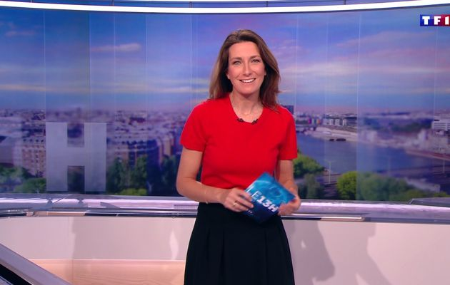 📸31 ANNE-CLAIRE COUDRAY @ACCoudray @TF1 @TF1LeJT pour LE 13H WEEK-END #vuesalatele
