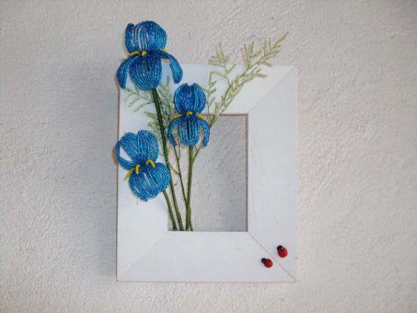 creatrice d'objets en perles tournee vers l'art floral