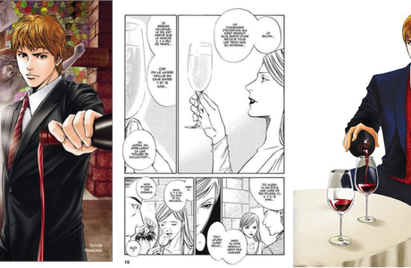 Quand le Manga fait vendre du vin !