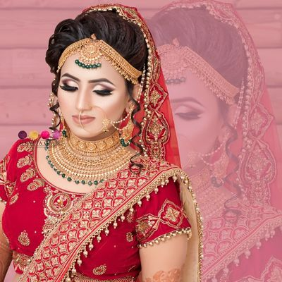 Create Best Makeup Look With Professional Bridal Makeup Artists In Delhi