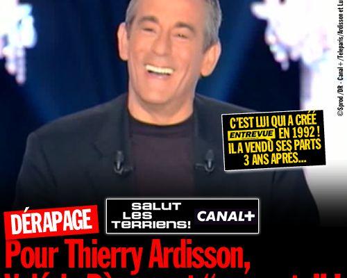 """Pour Thierry Ardisson, Valérie Bègue est """"une pute"""" ! (Mis à jour)"""