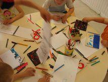 Atelier peinture murale : esquisses