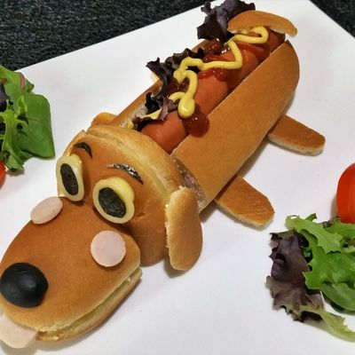 L'adorable petit hot-dog
