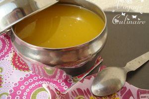 Ghee indien ou appelé aussi beurre clarifié