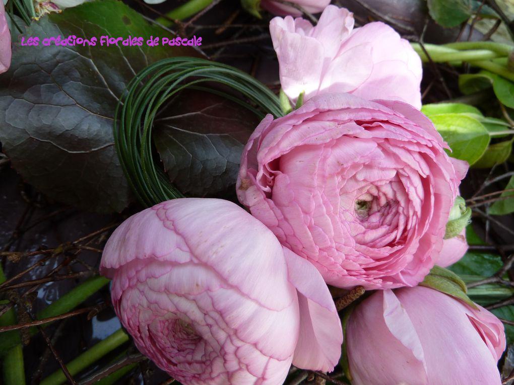 Mes compositions florales au gré de mes inspirations et envies du moment