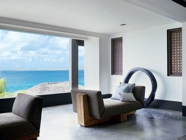 Villas de rêve sur une île paradisiaque