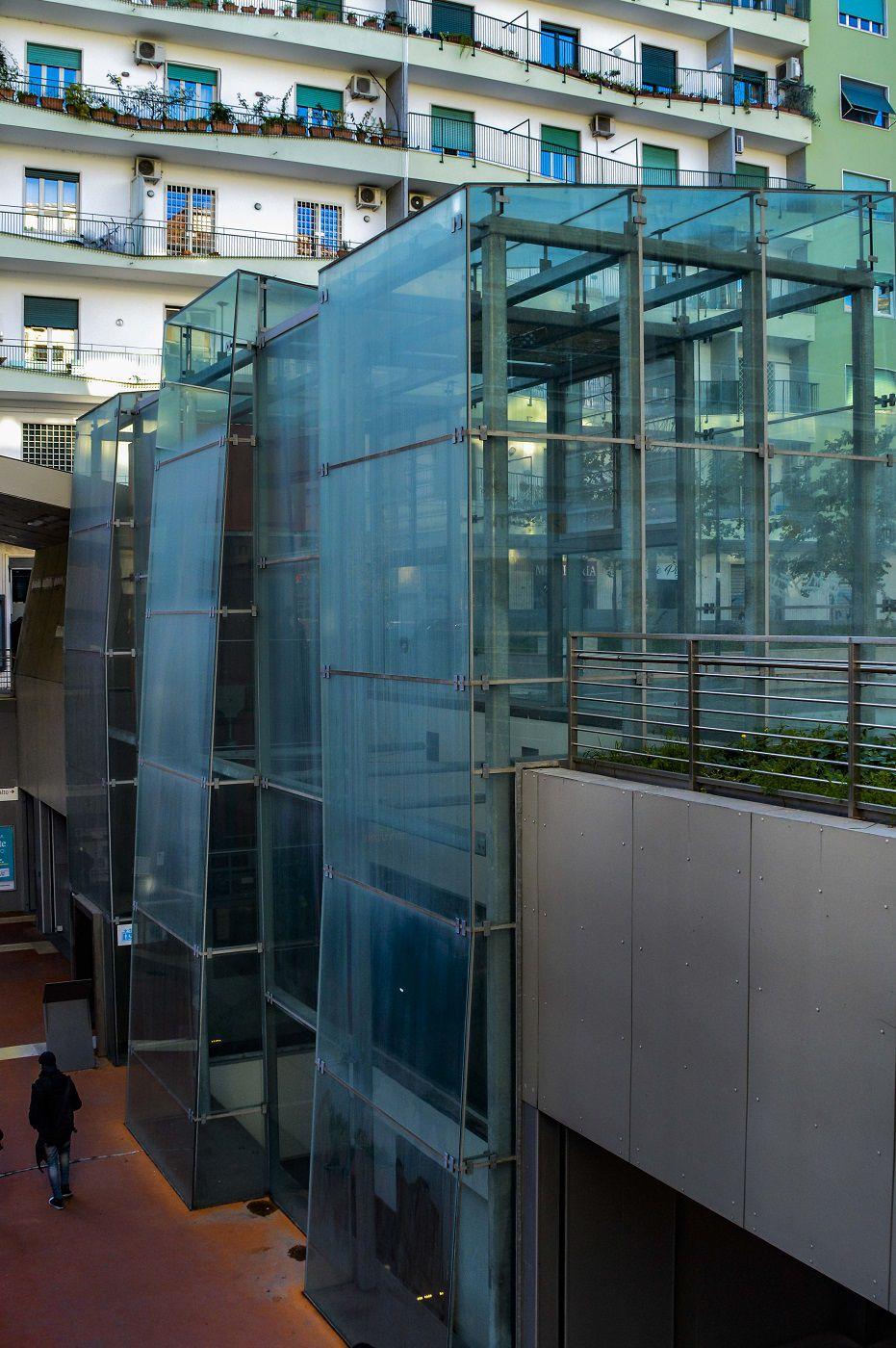L'architecture du métro romain