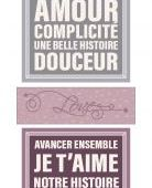 FDSE03910 Etiquette un air sentimental - Cartes project life FEE DU SCRAP