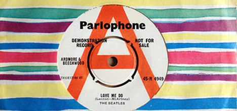 The Beatles Love Me Do Single Breaks Discogs Most Expensive Single Sales Record