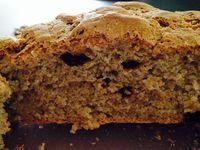 Le pain a peu gonflé, mais le goût est bien là, et même que c'est franchement bon...