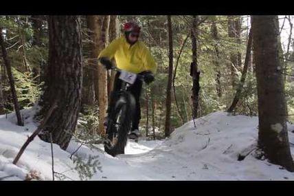 vidéo de fat bike