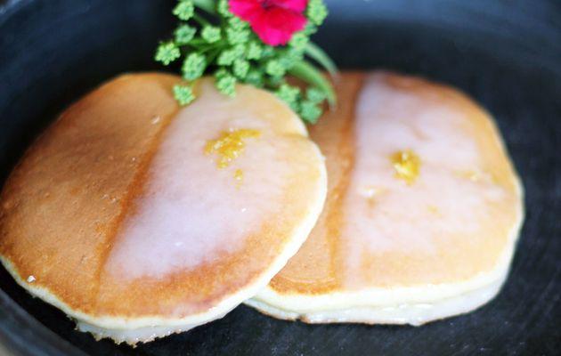 """[ RECETTES FLUFFIE ] Pancakes au citron """"frosty"""""""
