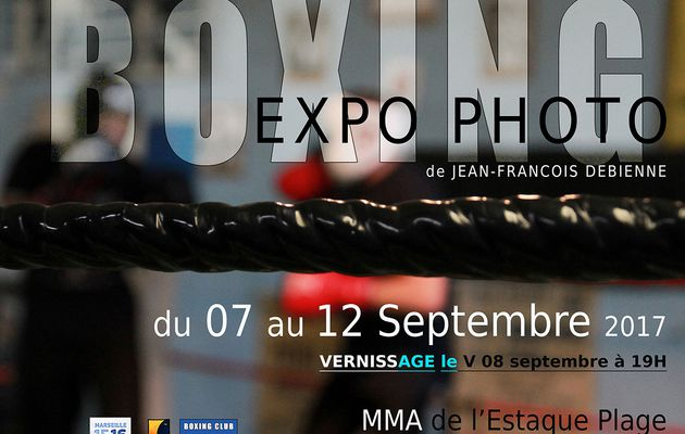 BOXING - Expo photo de jean François Debienne