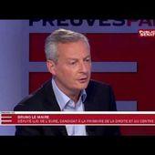 """Pour Bruno Le Maire, Macron """" c'est de la soupe """""""
