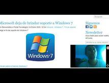 El final de Soporte Windows 7a llegado