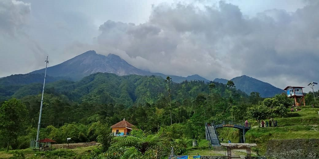 Merapi from Klangon - 05.11.2020 - photo IG Merapi