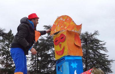 Mane - Carnaval dans la commune avec les enfants des ALAE du canton