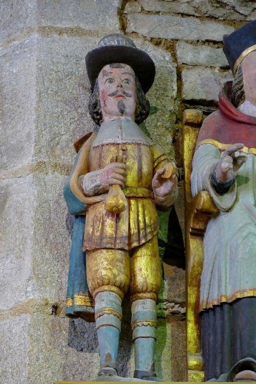 Diaporama : Saint Yves entre le riche et le pauvre, église Notre-Dame, Brennilis, photographie lavieb-aile.