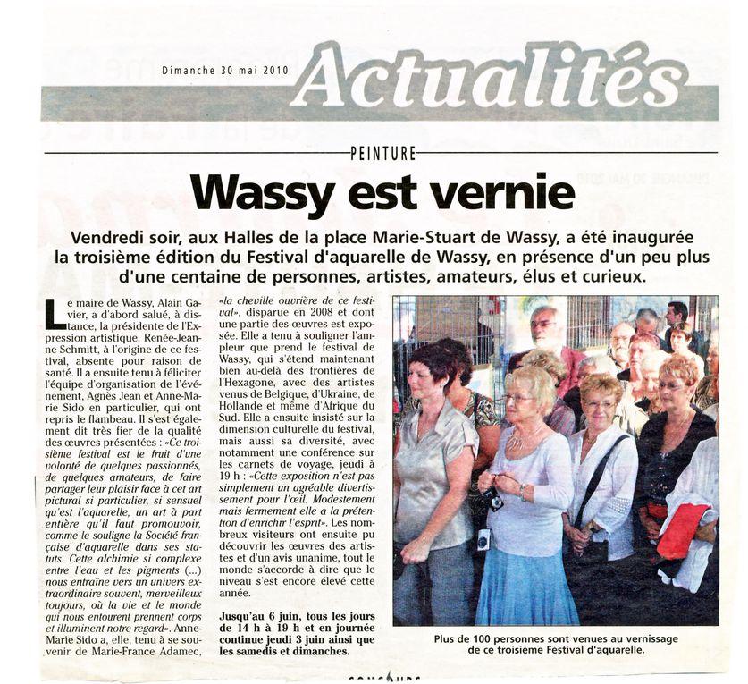 Quelques articles (Journal de la Haute-Marne principalement) sur le festival.  On aurait pu s'attendre à une meilleure couverture médiatique de la part des journaux locaux. Souhaitons que ce soit le cas pour le prochain festival.
