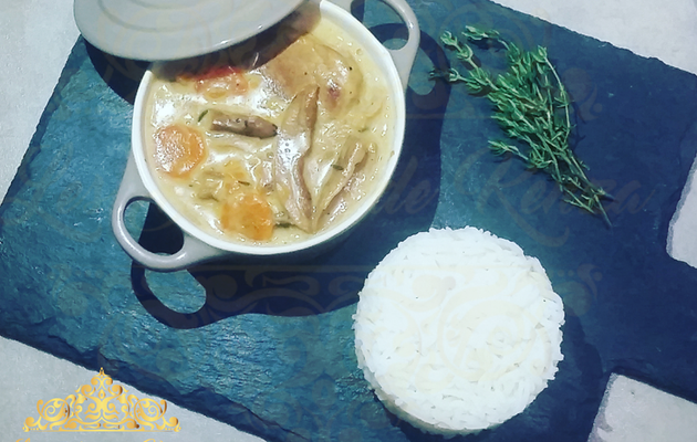Blanquette de Veau aux Cepes ( Video )